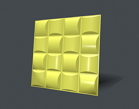Wall Panel room 3D model