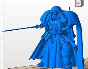 3D printable model Primaris Librarian in Phobos armor