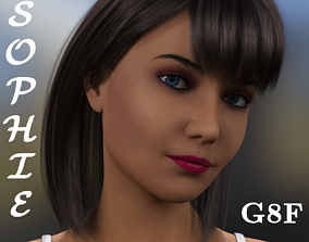 3D model Sophie For G8F