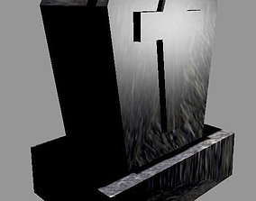 3D printable model Decorative tombstone