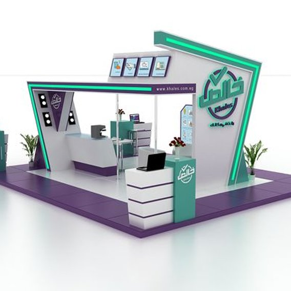 exhibition stall model