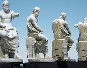 3D Statue of Jupiter