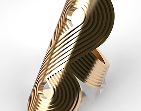 3D printable model Big Fashion Ring
