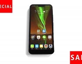 Huawei cell phone 3D asset