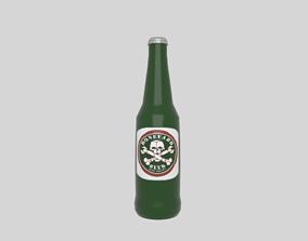 3D model VR / AR ready Beer bottle beverage