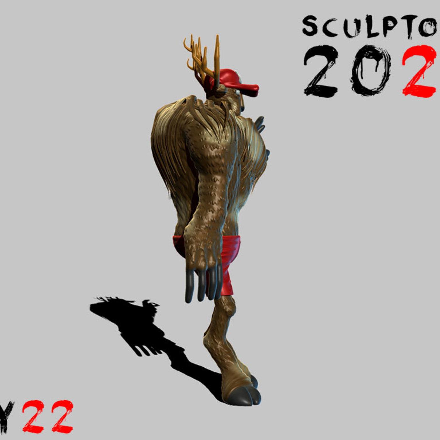Sculpture Day 22 Point