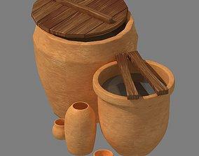 3D model Dynasty City - Water Tank