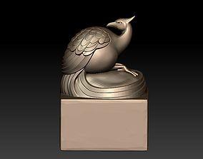 phoenix sculpture 3D print model