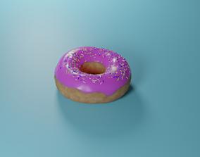 3D model PBR donut