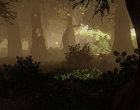3D model Forest Vegetation Pack