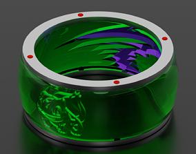 3D Bulbasaur ring