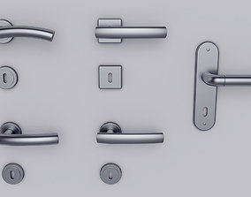 3D Door handle set