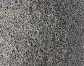 PBR Concrete 18 - 8K Seamless Texture with 5 Variations 3D