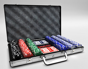Poker case 3D