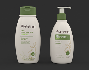 3D Aveeno Body Wash and Lotion