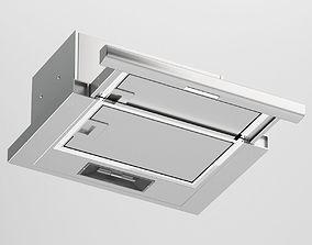 3D model Silver Cooker Hood