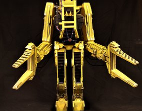 Aliens P5000 power loader scifi 3D print model