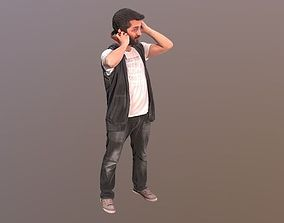 3D model No67 - Guy With Headphones