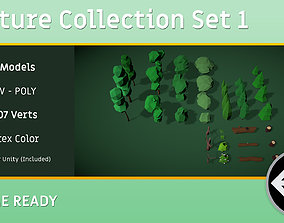 NATURE PACK - Game Ready Unity 3D model low-poly