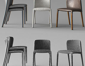 chairs ALF ITALY 3D