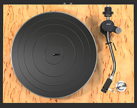3D Turntable with Ortofon