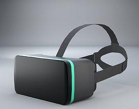 3D Simple VR Headset Free Model