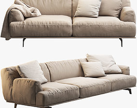 Poliform Tribeca sofas 3D model