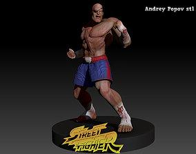 SAGAT STREET FIGHTER 3D printable model
