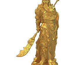 3D printable model Guan Yu5