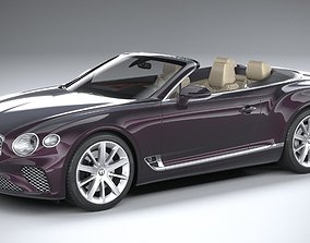 Bentley Continental GT Convertible 2020 3D model