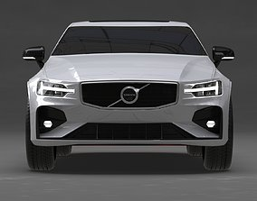 Volvo S60 2019 No Interior 3D