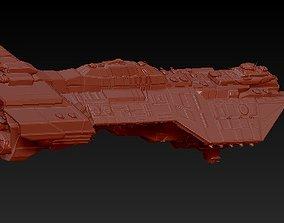 3D printable model Heavy cruiser