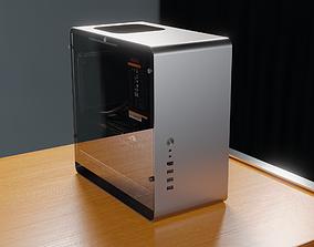 3D asset Clarity PC 4K PBR Model with Desk