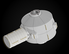 Lockheed Gateway Airlock Module 3D model space