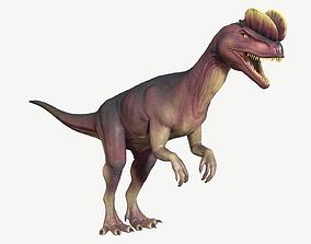 Dilophosaurus 3D asset