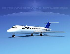 3D model Douglas DC-9-30 Austral