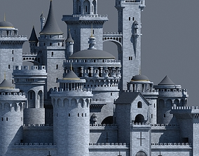 Fantasy Castle 003 3D model architecture