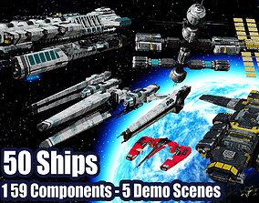 3D model The Big Spaceship Builder