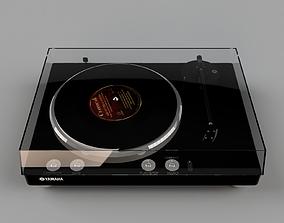 3D asset Gramophone YAMAHA