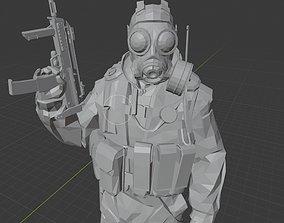 3D print model SAS Agent - Counter Strike - CSGO