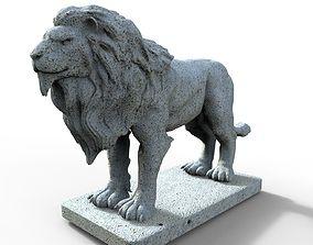 3D printable model Lion Gargoyle