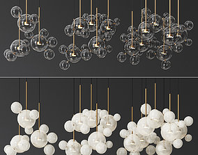 3D Giopato Coombes Bolle Circular 14 and 24 and 34 Bubbles