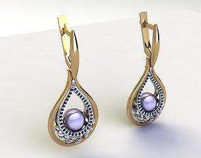 3D printable model Princess Earrings