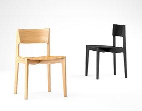 3D model Mark Tuckey elementary chair