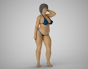 Old Lady 3D printable model