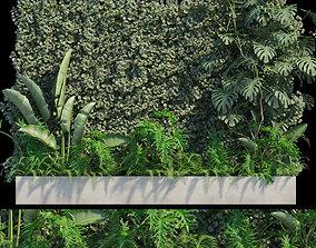 3D model Vertical garden 20