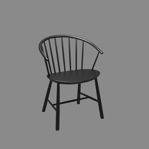 Johansson J64 Chair 3D model
