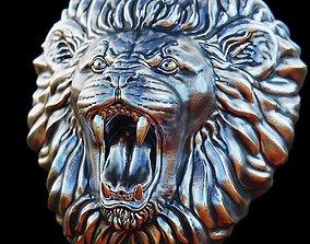 Roaring Lion head - 3D print model cat