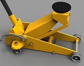 Hydraulic jack 3t 3D