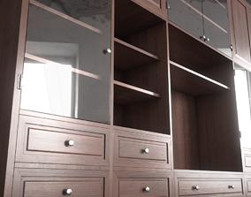 3D Sideboard Bookshelves